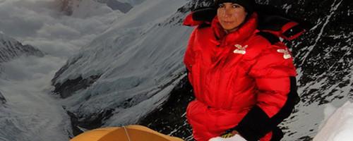 Parvaneh Kazemi – Alpinista iraní